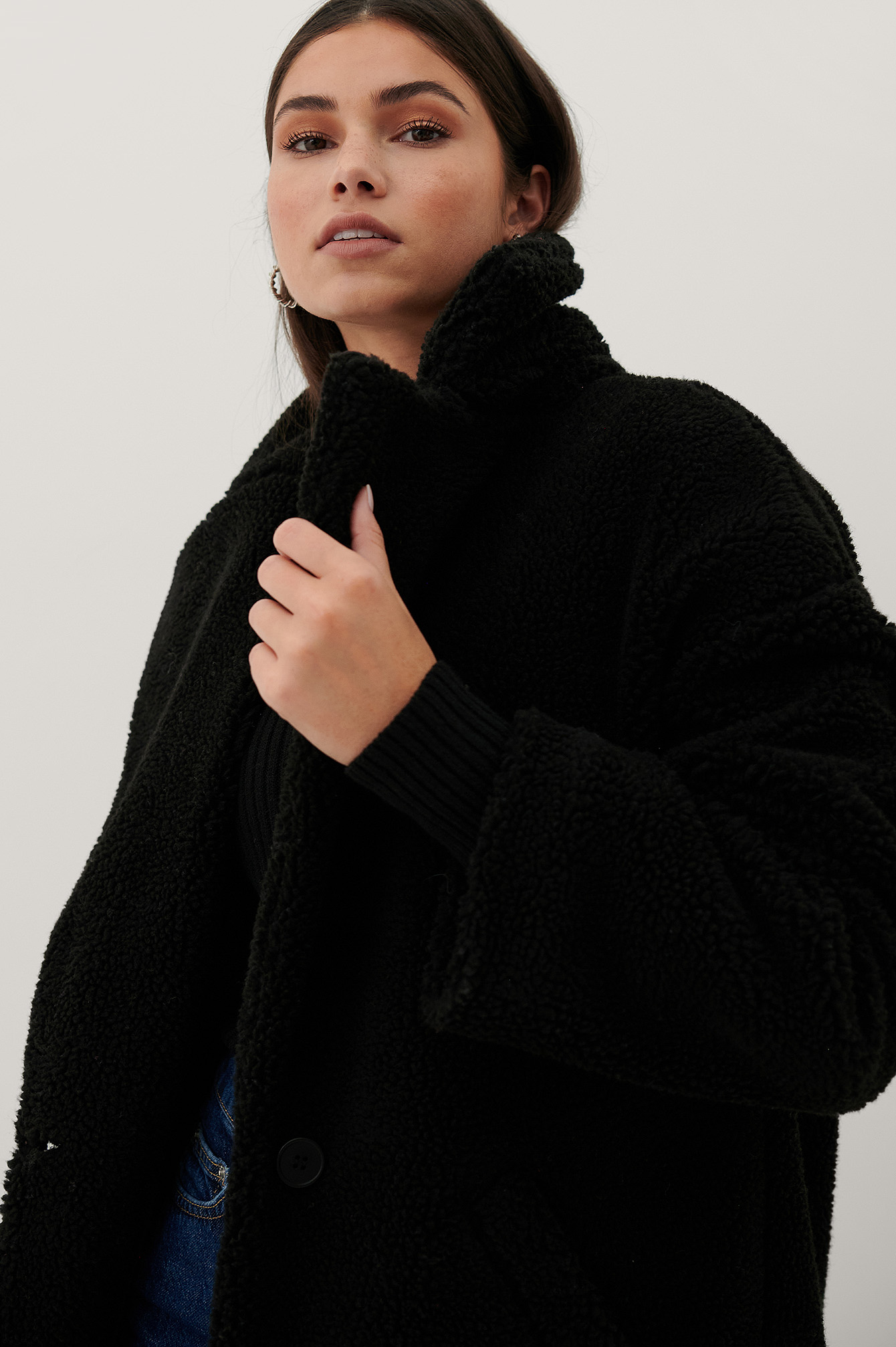 Black Big Teddy Jacket