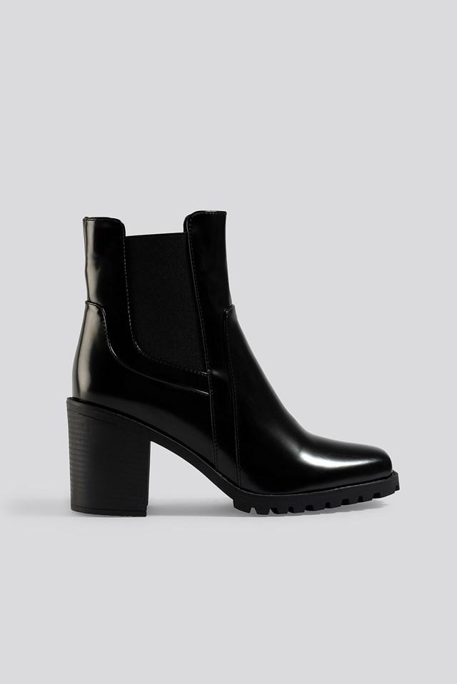 Abha Ankle Boots Black
