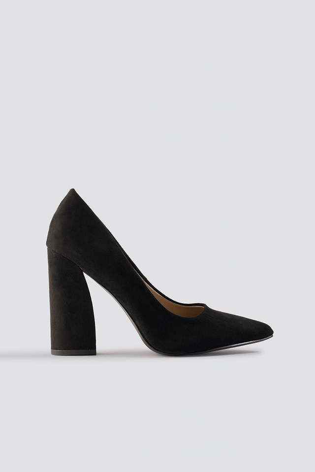 Yana Pumps Black Suede