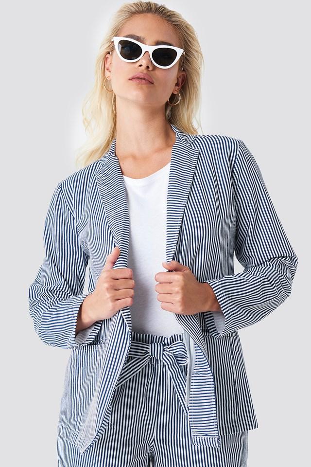 Firo Striped Blazer Rut&Circle