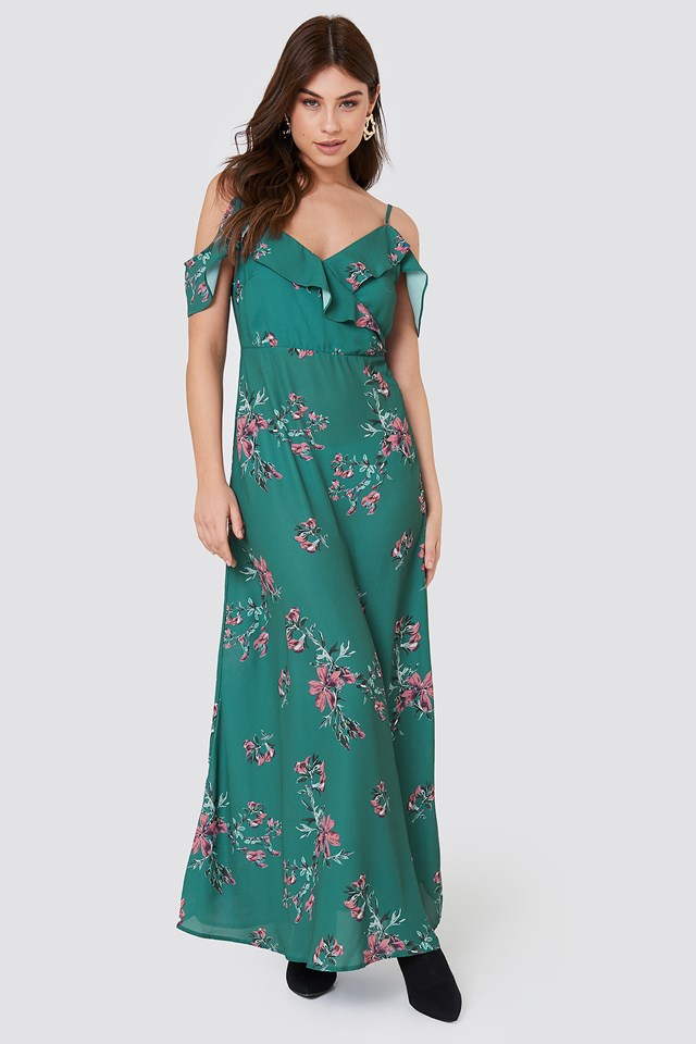 Mika Long Dress Rut&Circle