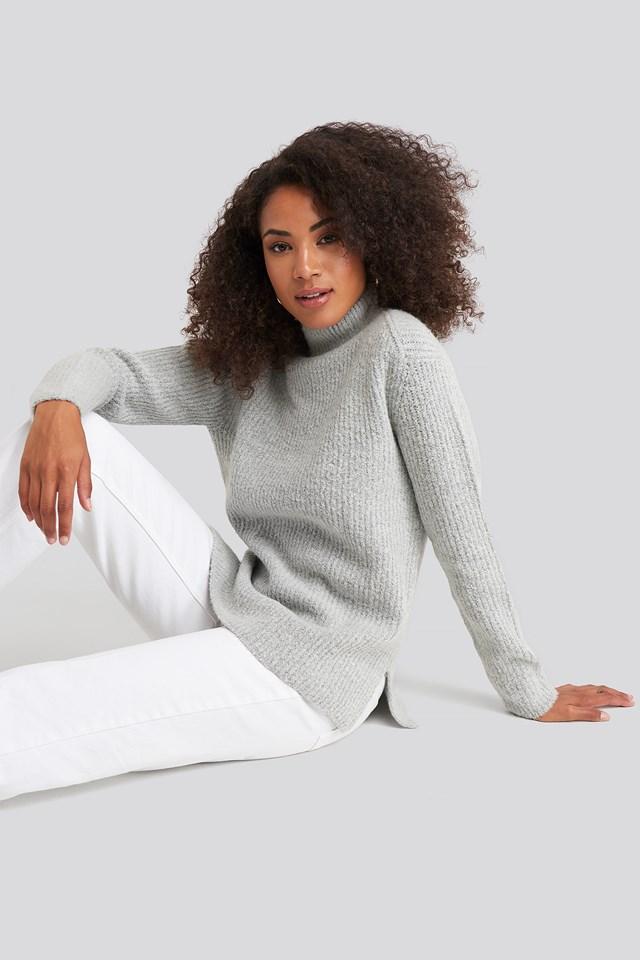 Marielle Knit Grey Melange