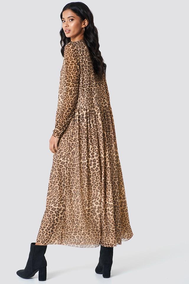 Milena Dress Leopard