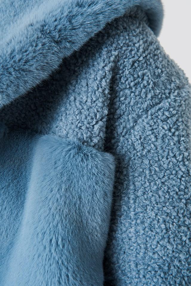 Carla Jacket Dusty Blue