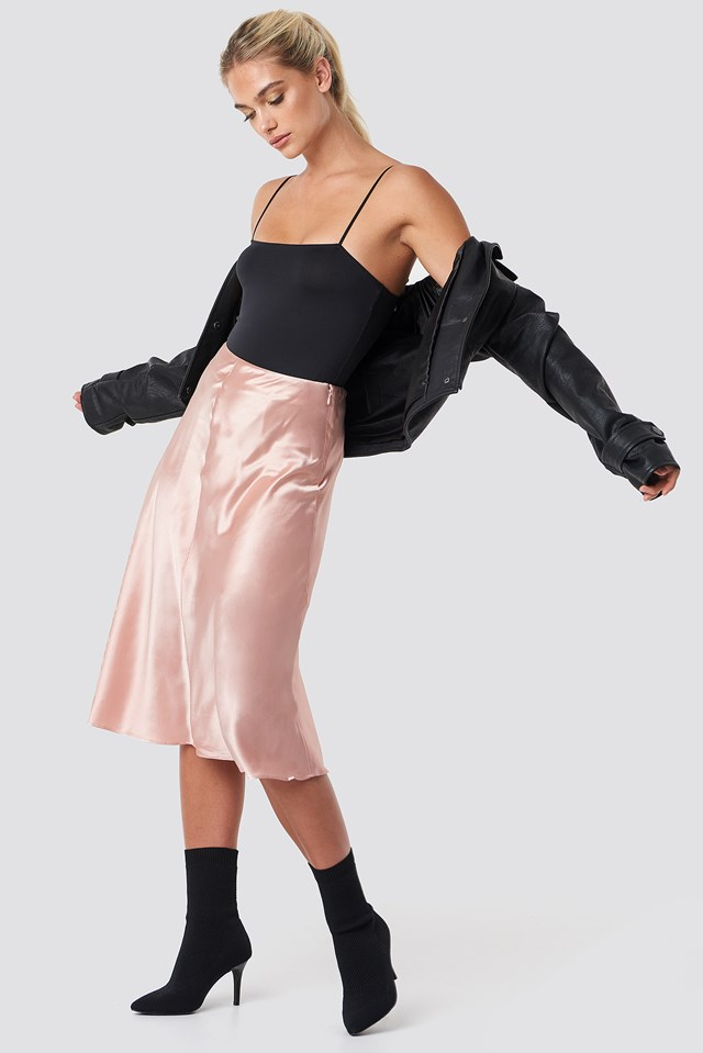 Heaston Skirt Rose Smoke