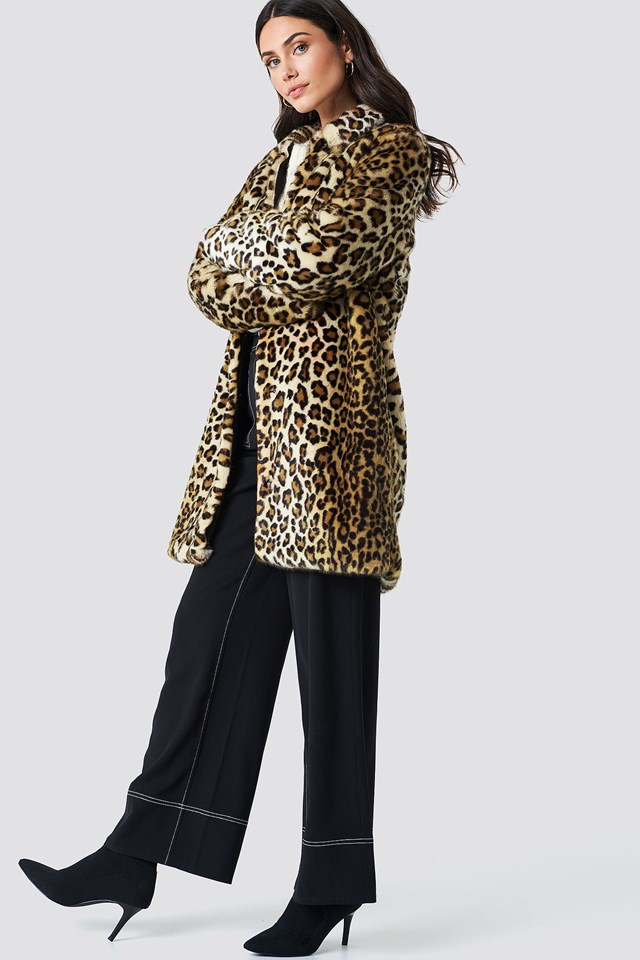 Rea Jacket Leopard