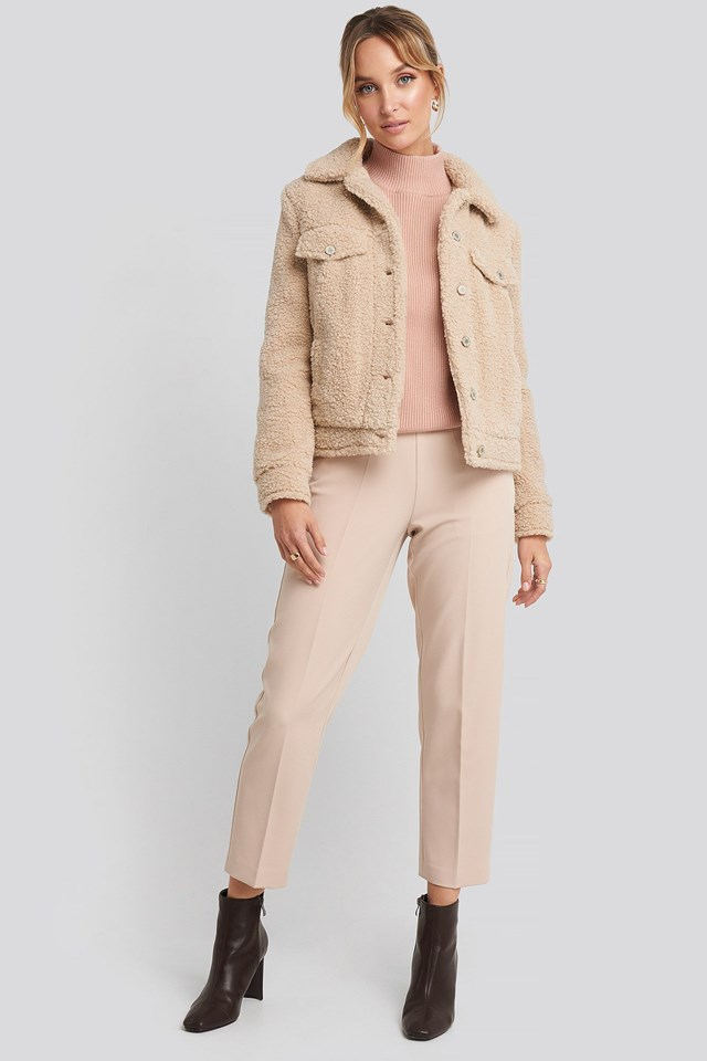 Texas Jacket Beige Outfit