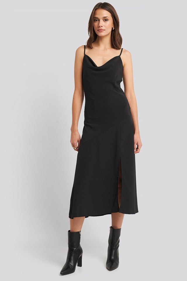 Guf Dress Black Outfit