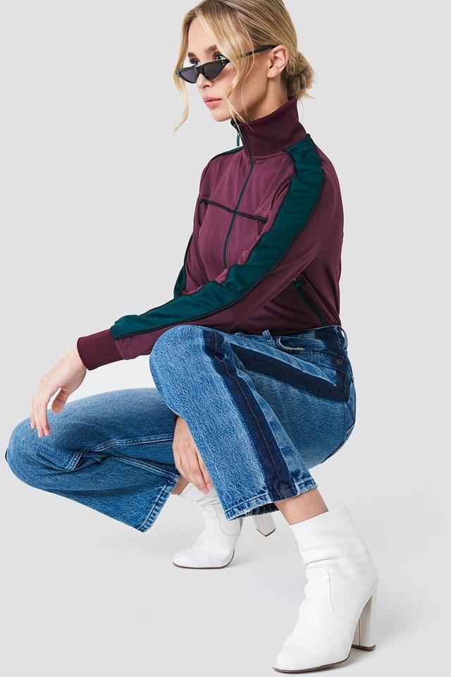 Side Panel Jeans