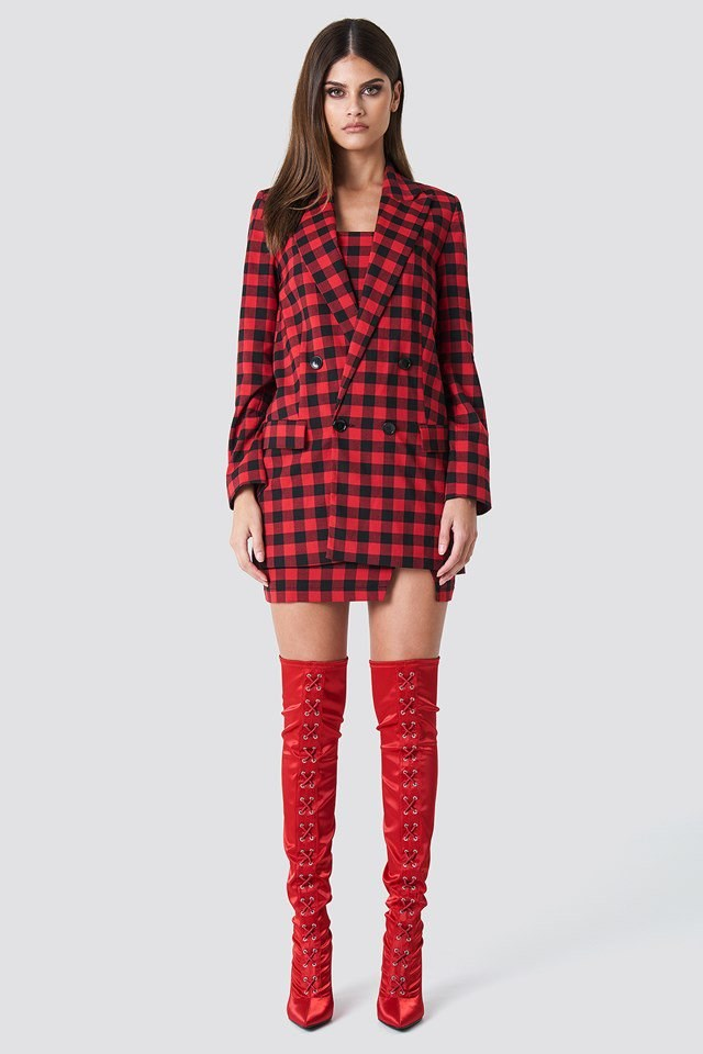 Red Check Outfit