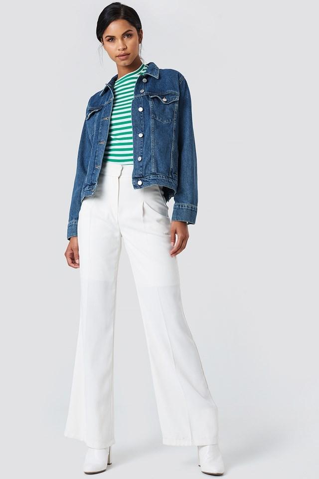 Regular Denim Jacket Outfit