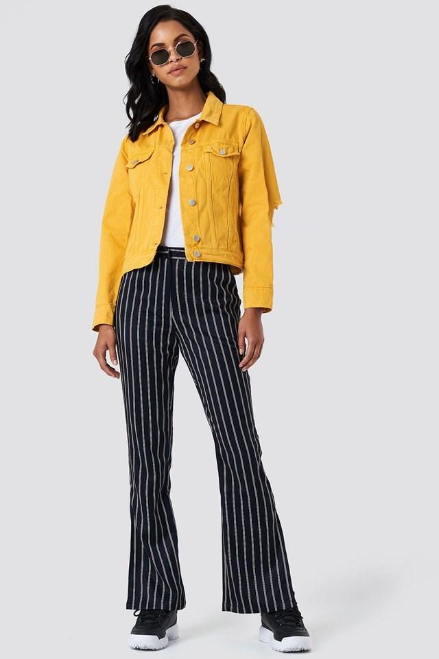 Colorful Denim Jacket