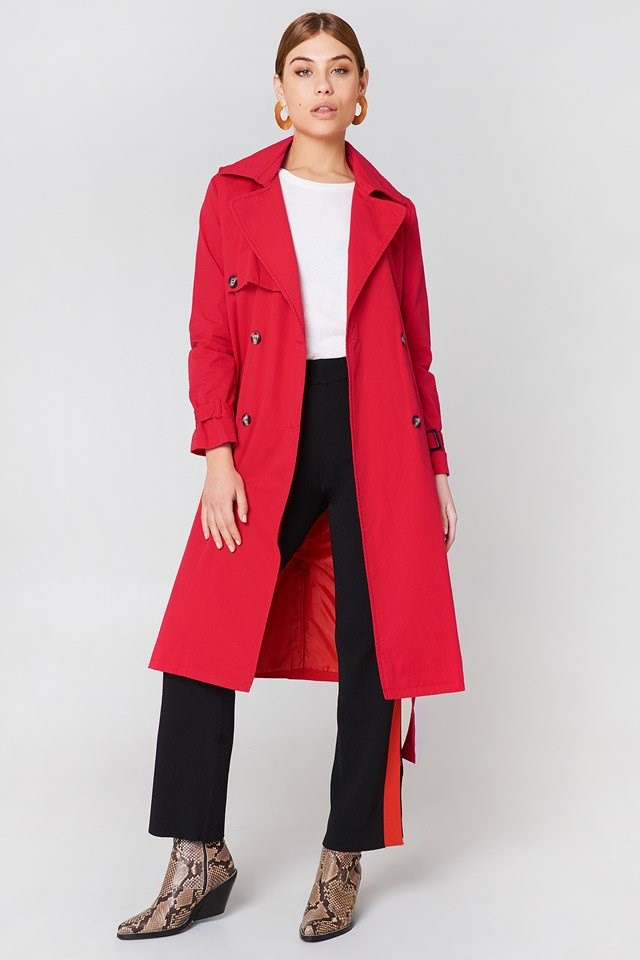 Long Trenchcoat Outfit