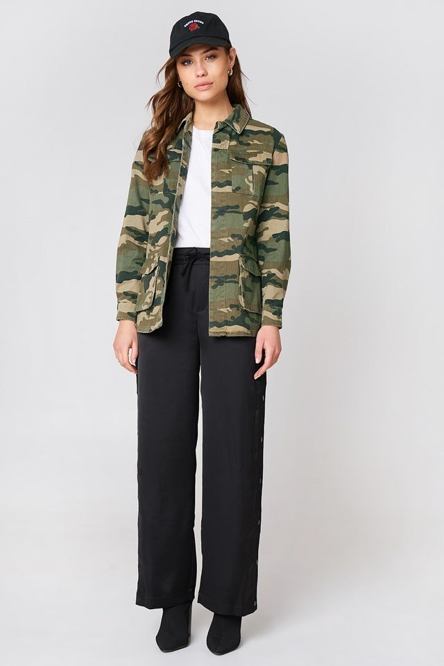 Army Jacket Outfit