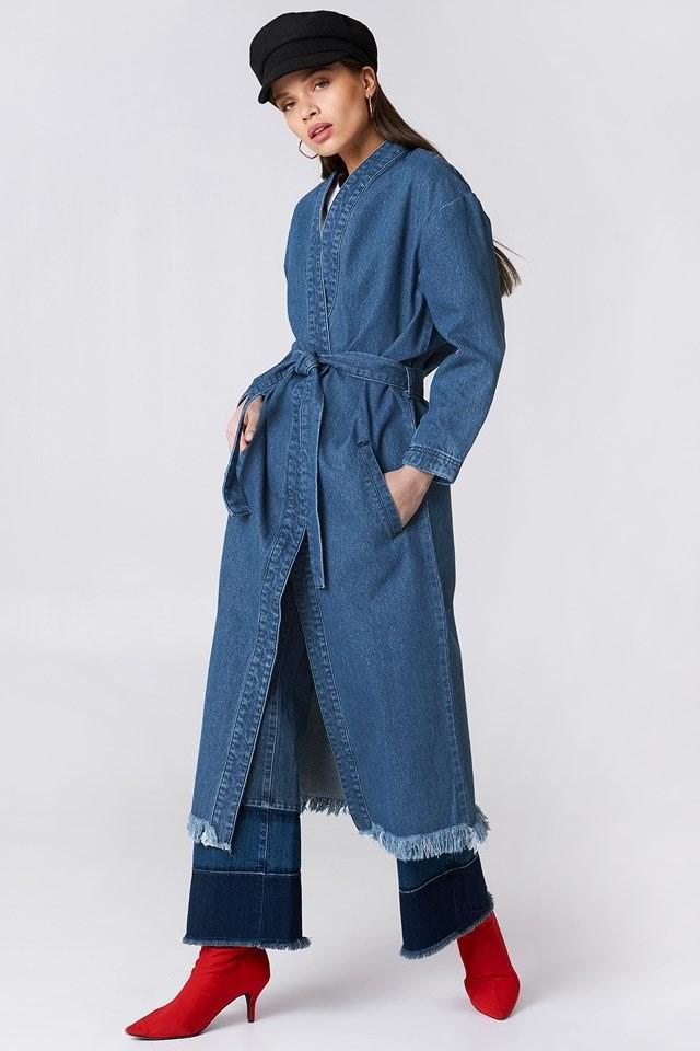 Denim Coat Outfit