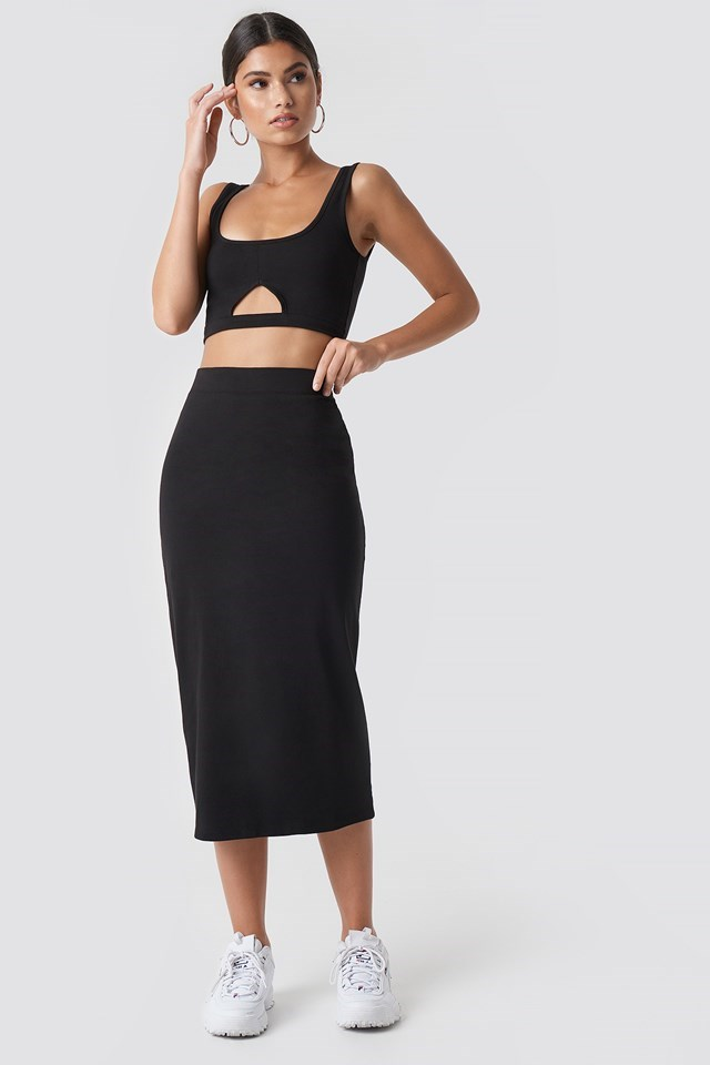 All Black Co-ords Outfit