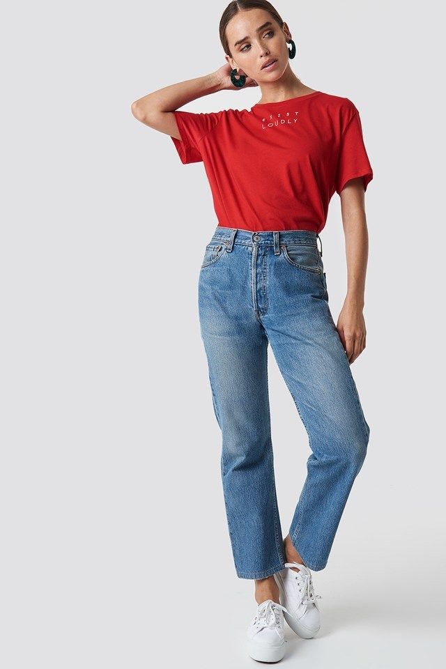 Loudly Oversized Tee Outfit