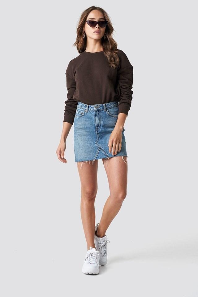Deep Back Sweater