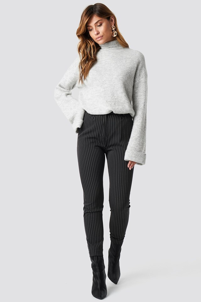 Soft Turtleneck Sweater Outfit
