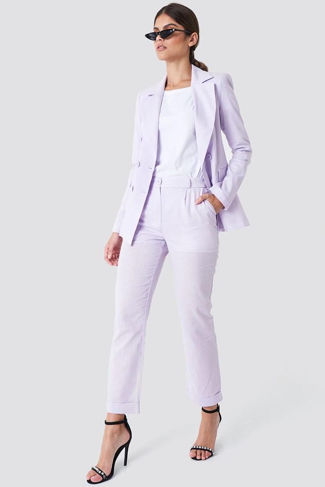 Purple Suit Outfit