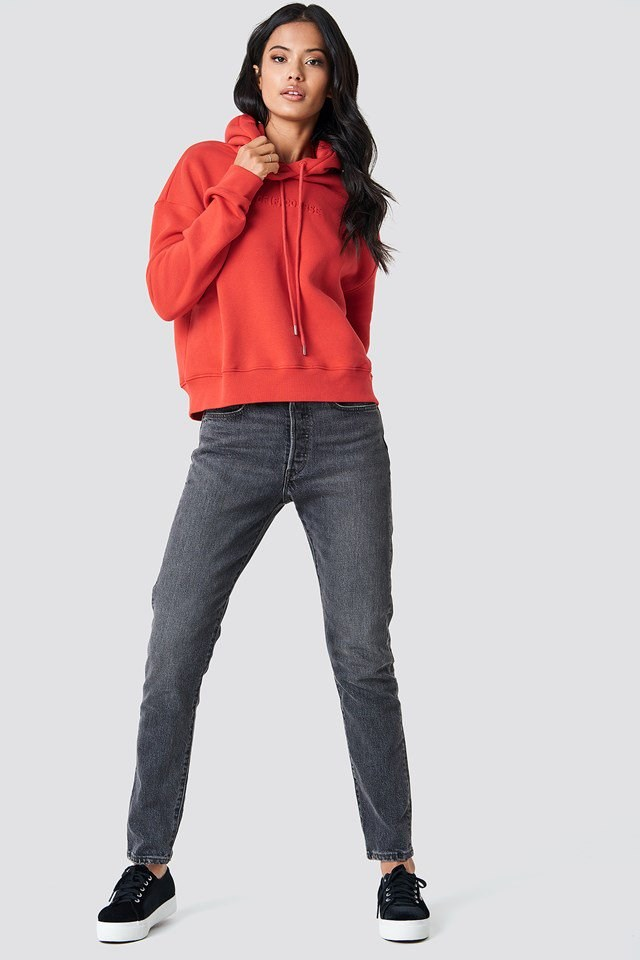 Stylish Hoodie and Denim Outfit