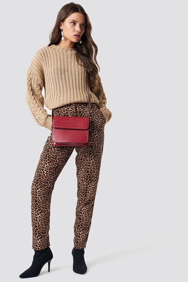 Knitted Leopard Outfit