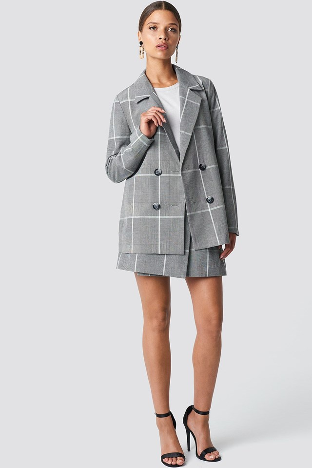 Suit Up Skirt Outfit