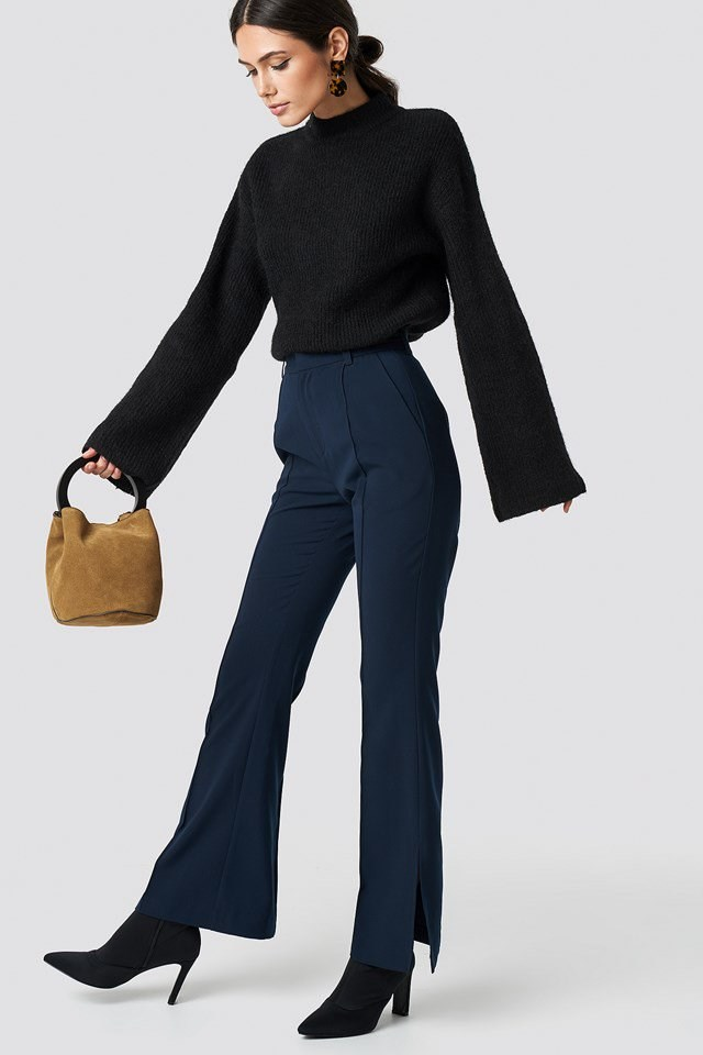 Black & Navy Classic Outfit