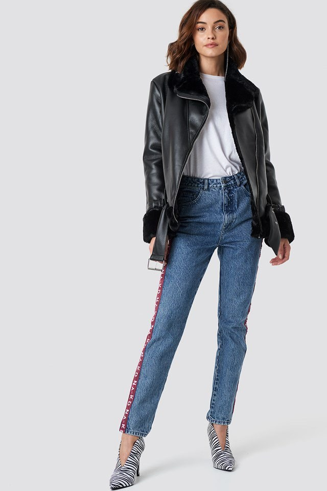 Biker Jacket Everyday Outfit