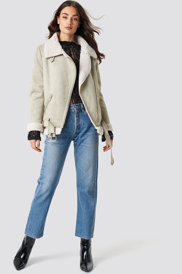 Aviator Jacket Outfit