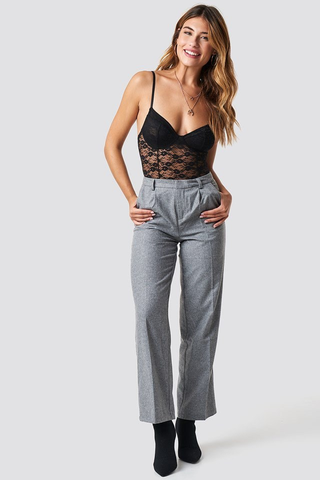 Full Lace X Trouser Outfit