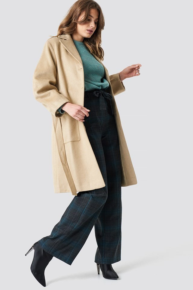 Long Classic Coat Outfit