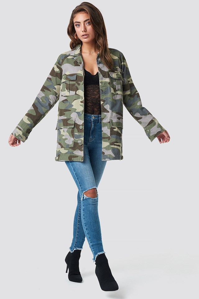 Large Jacket Outfit