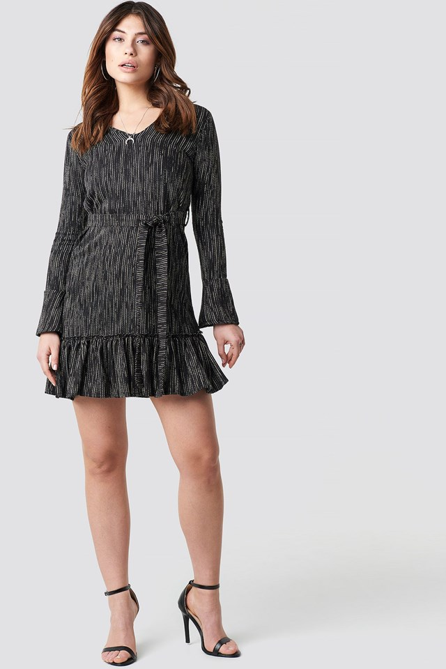 Waist Belt Dress Outfit