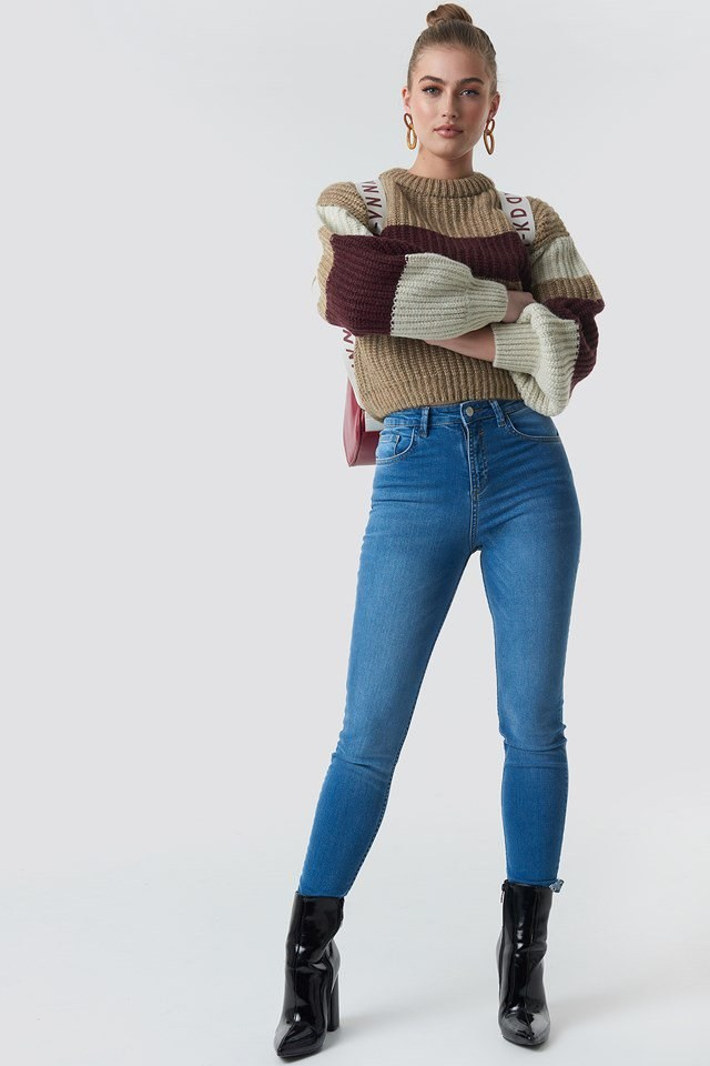 Cropped Knitt Outfit