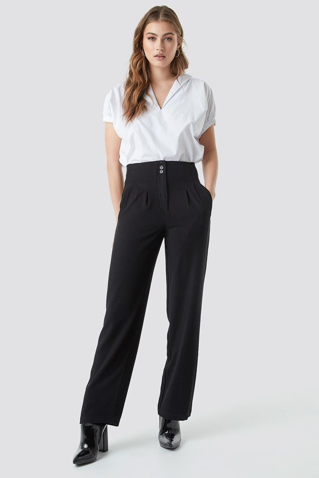 Pleated Suit Pants Outfit
