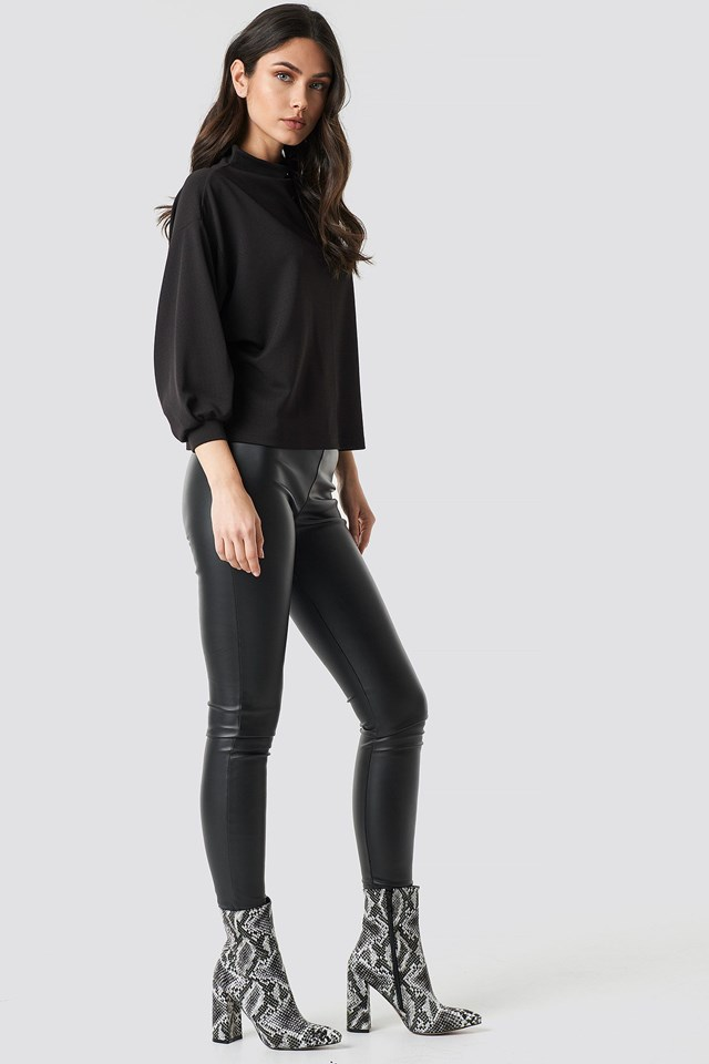 Boxy Sleeve Top Outfit