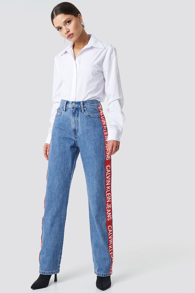 Straight Jeans Iconic Outfit