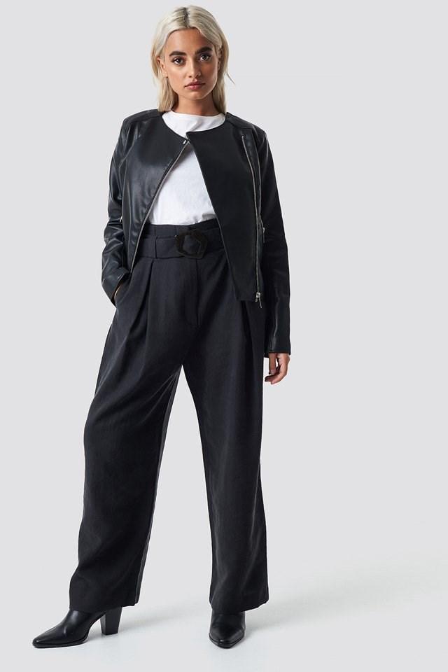Marcmoto Jacket Black Outfit