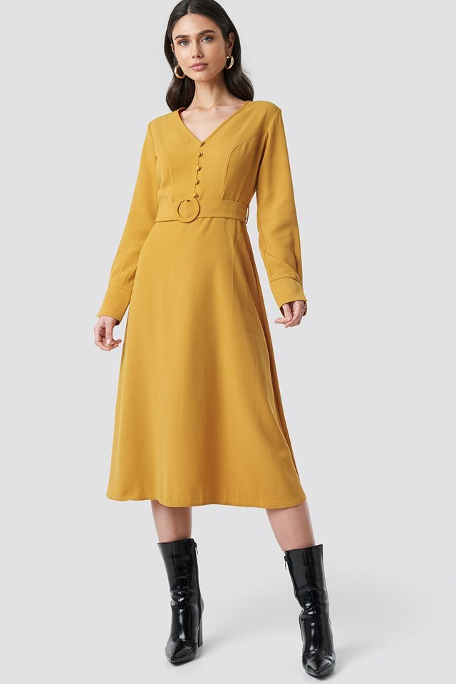 Arched Long Dress Outit