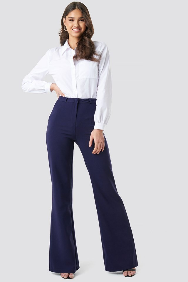 Highwaist Wide Pants Outfit