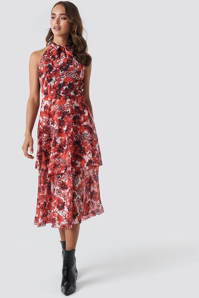 Flower Dress Outfit