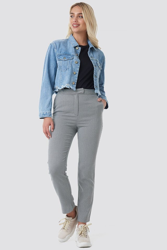 Cropped Denim Jacket Outfit