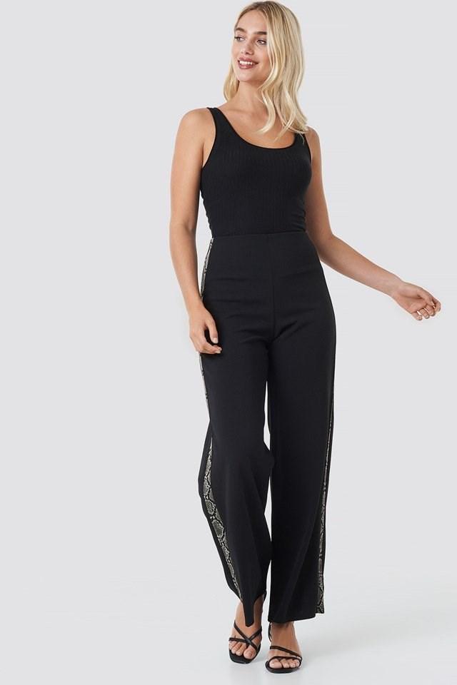 Glut Pants 6 Black Outfit