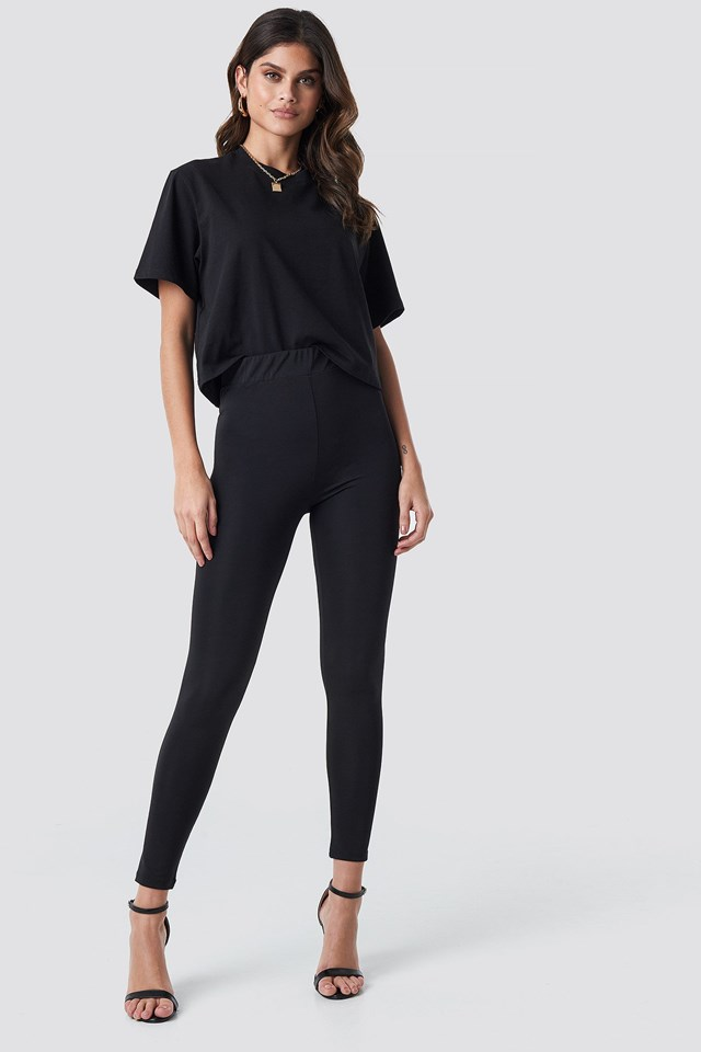 High Waist Leggings Outfit