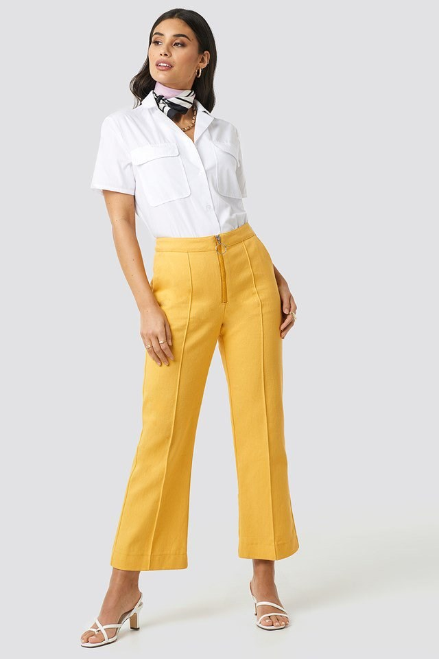 Lydie Trousers Yellow Outfit