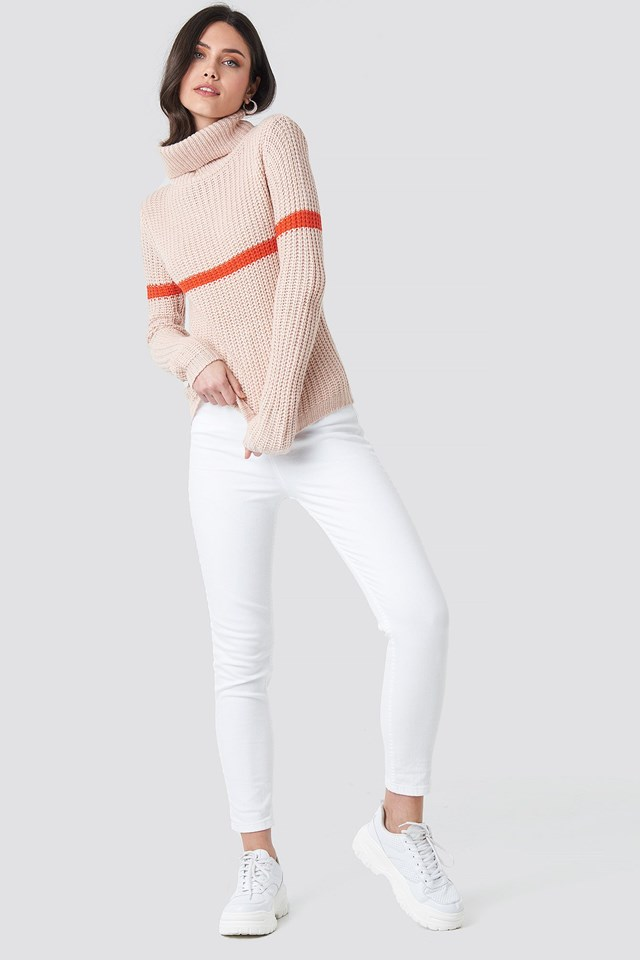 Tinelle Stripe Knit Outfit