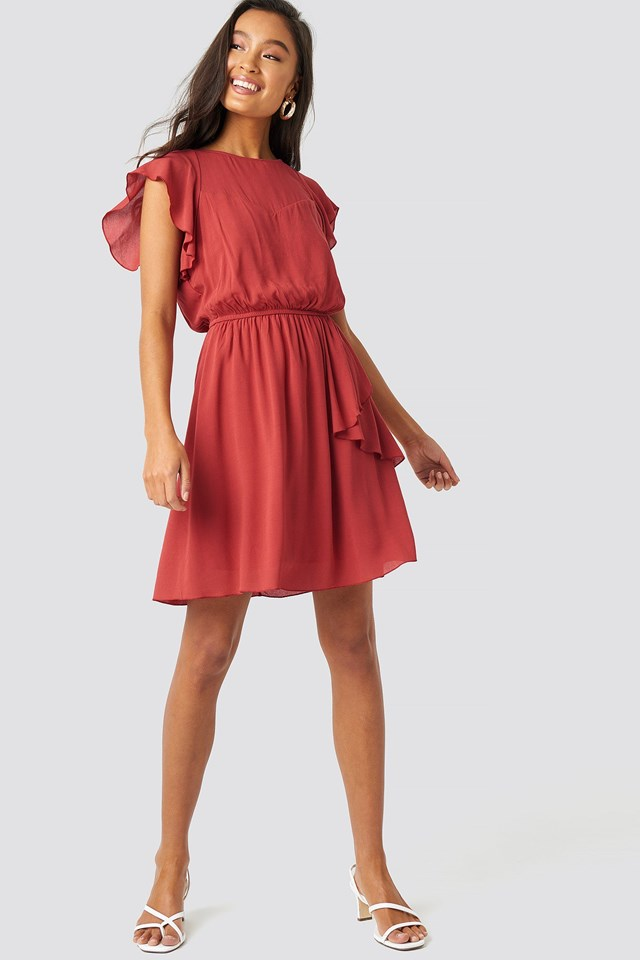 Pleated Mini Dress Outfit