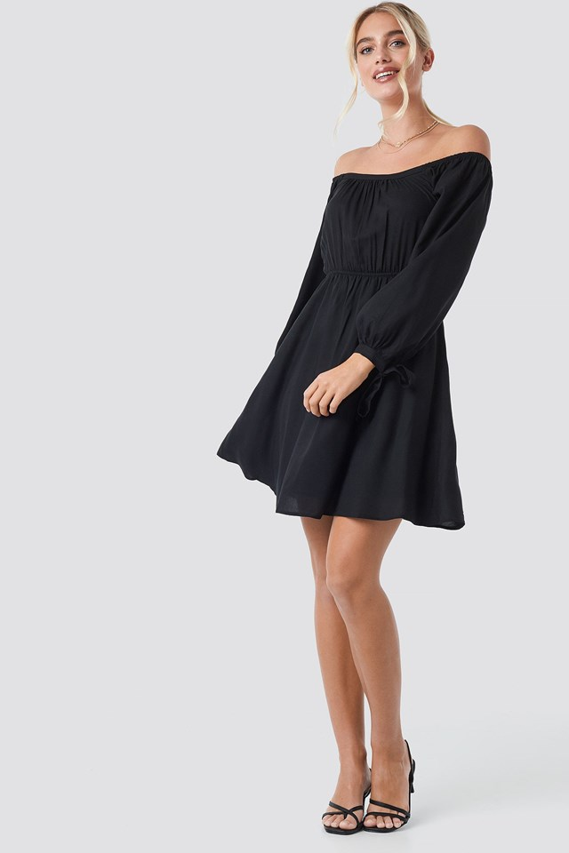 Carmen Collar Dress Outfit