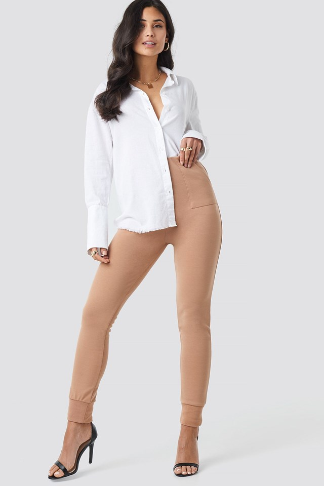 Sleeve Detail Shirt Outfit